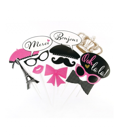 """A Night In Paris"" Bachelorette Party Set"