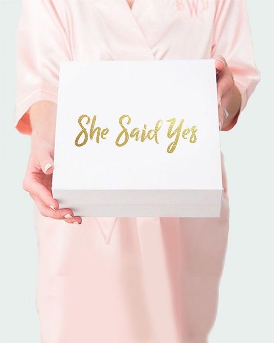"""She Said Yes"" Surprise Box"