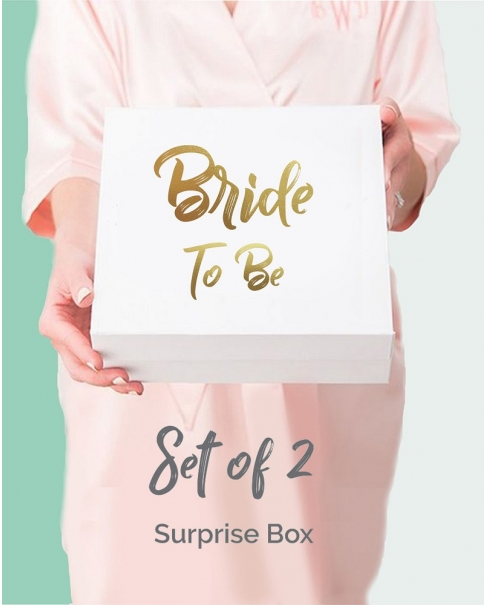 Set of 2 Surprise Bridal Boxes