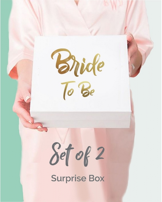 Set of 2 Surprise Bridal Boxes