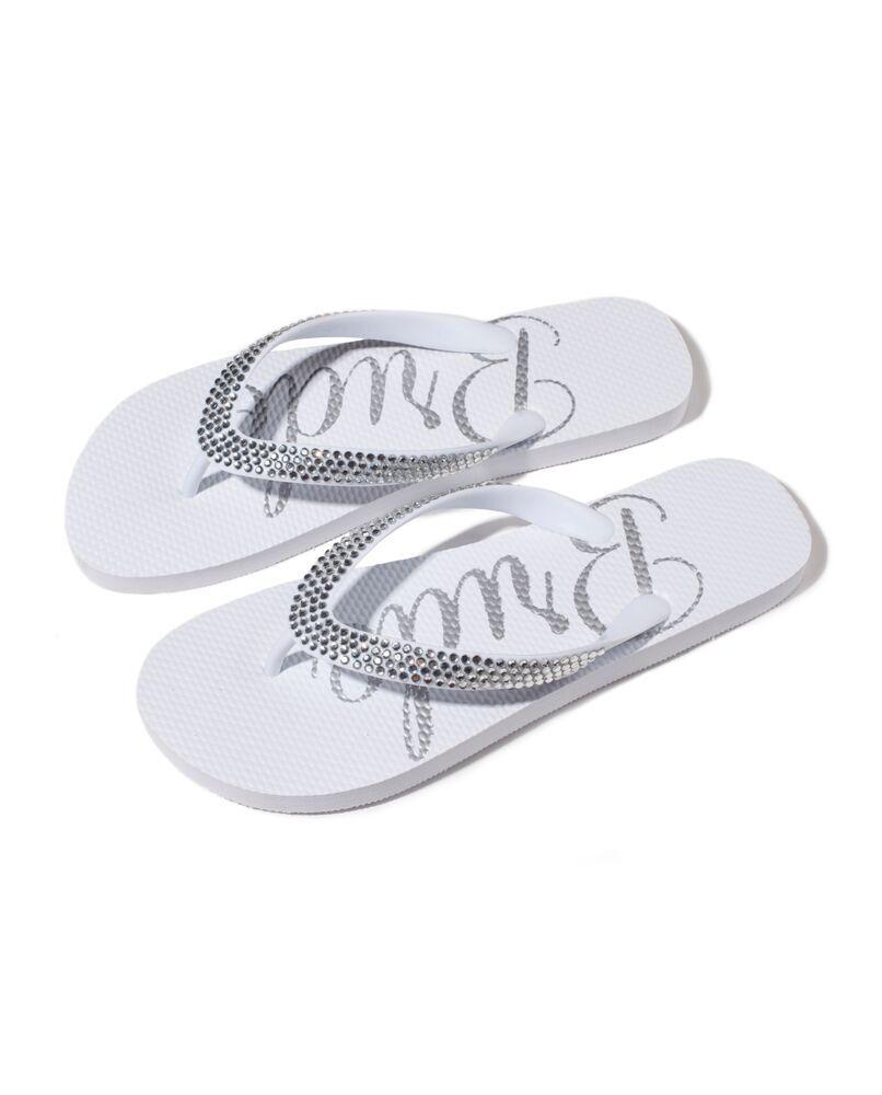 63cc4d8082b74 Crystal Bride Flip Flops