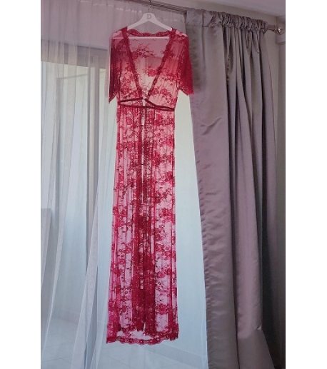Floral Lace Night Dress