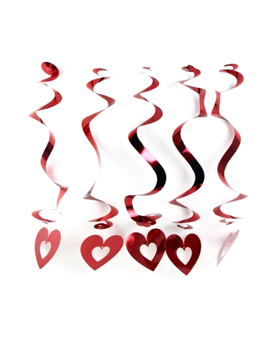 Red Hearts Decoration