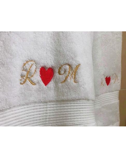 Personalized Set of 2 Towel - Large & Medium