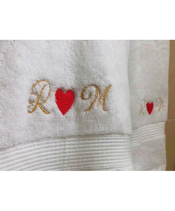 Personalized Set of 2 Towel - Large & Medium