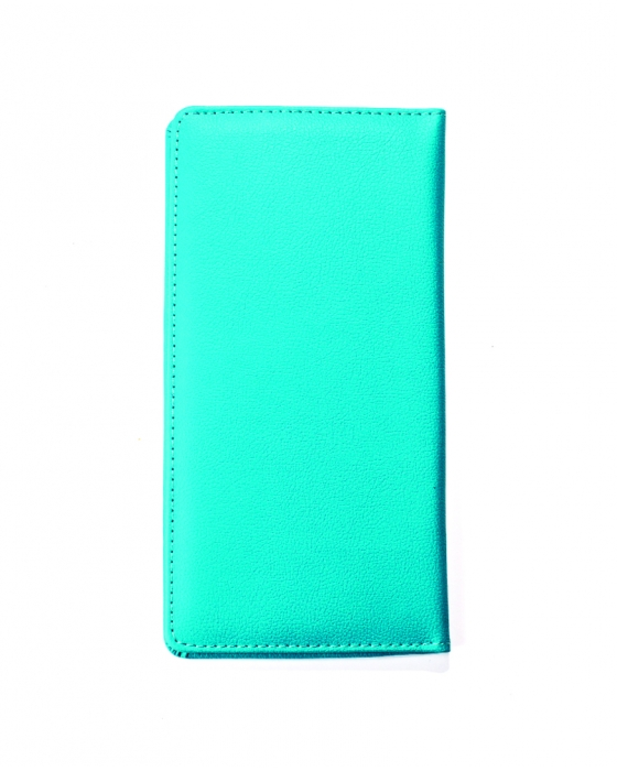 Turquoise Travel Wallet