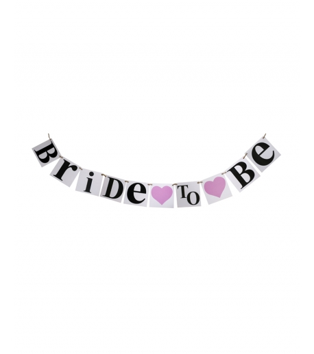"""""""Bride To Be"""" Banner"""
