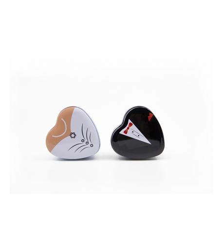 Bride and Groom Heart Tin Box