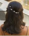 Crystal Star Hair Pin