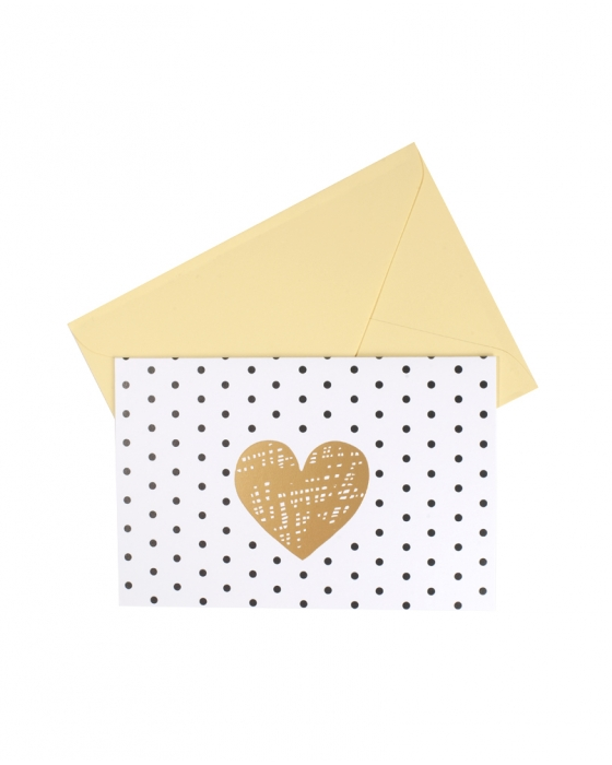 Dotted Heart Card
