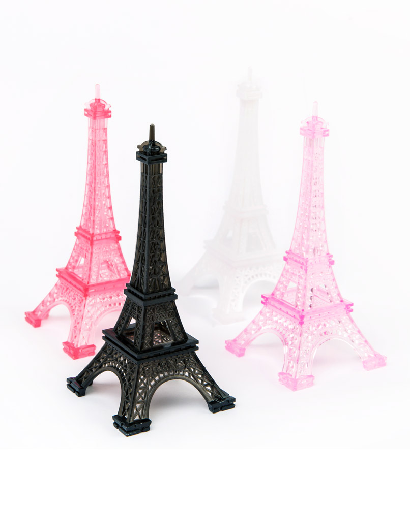 Eiffel Tower Table Decorations