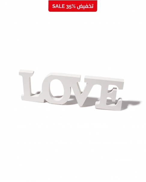 "Wooden ""LOVE"" Sign"