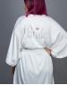 Satin Sequin Robe