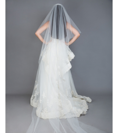Ivory Two-tier Veil