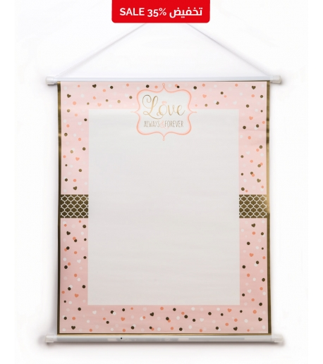 """Pink """"Love"""" Sign-in Sheet"""