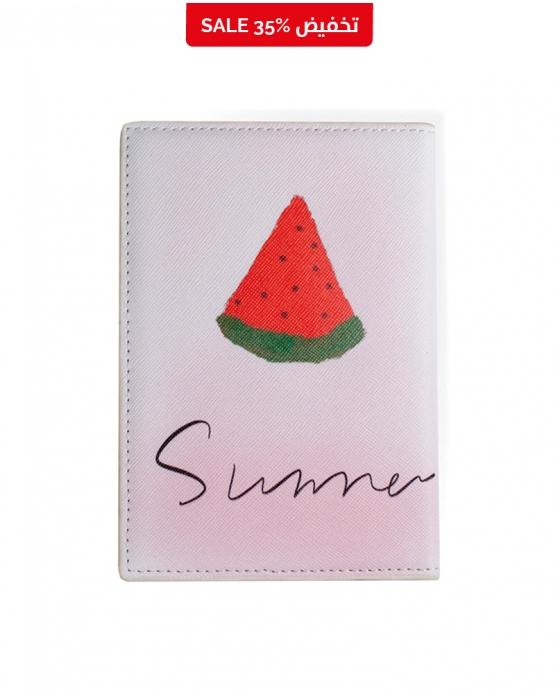 """Summer"" Watermelon Passport Cover"