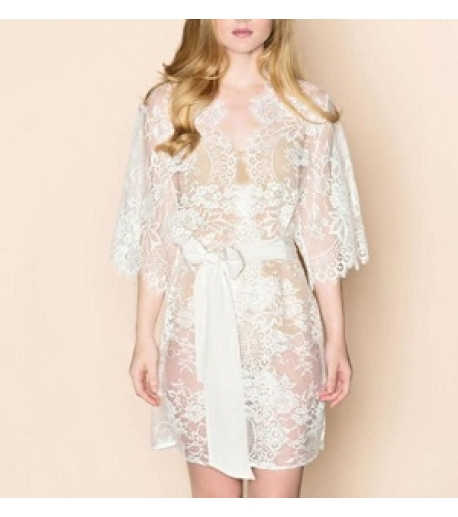 Floral Lace Robe