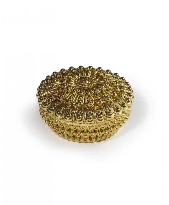 Gold Round Box