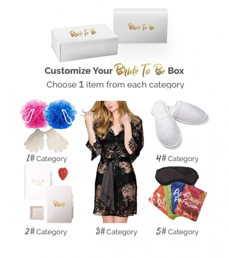 Bride To Be Box: Honeymoon