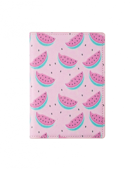 Pink Watermelon Passport Cover