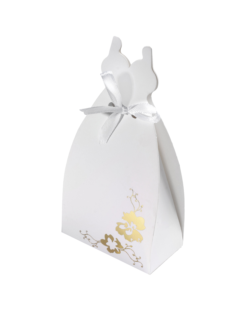 Bride shaped boxes for Boxes for wedding dresses